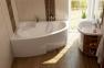 Акрилова асиметрична ванна Asymmetric 160x105 R\L Ravak 1