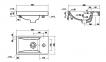 Умывальник (раковина) мебельный COMO 40 4