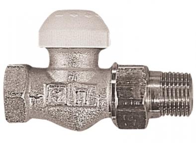 Клапан термостатичний прямий TS-90 HERZ
