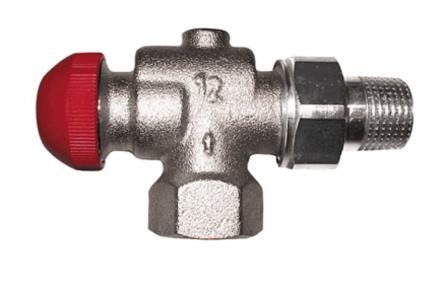 Клапан термостатичний кутовий TS-90-V Rp 1/2
