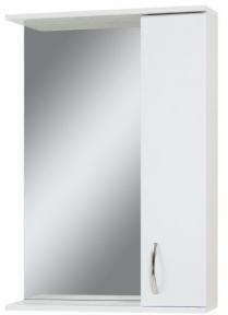 Дзеркало ZL-55 з шафкою, біле