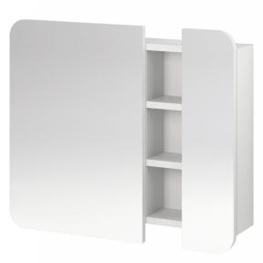 Шафка-дзеркало PURE, біла