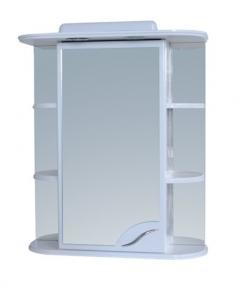 Шкаф зеркальный 730x600 с подсветкой
