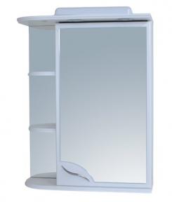 Шкаф зеркальный 730x550, правое + свет