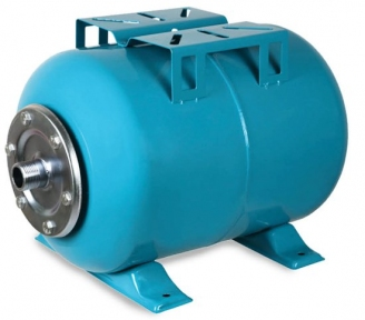 Гідроакумулятор горизонтальний 80л Aquatica