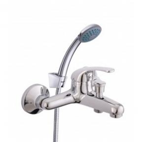 Змішувач ванни + лійка,шланг,тримач Optima-10/K rubineta