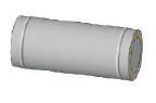 Труба (0.5mm) 0.25м, н/н ф220/280