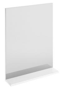 Дзеркало MELAR з білою поличкою