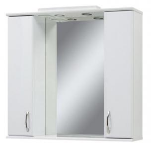 Дзеркало Z-100 з 2 шафками, біле