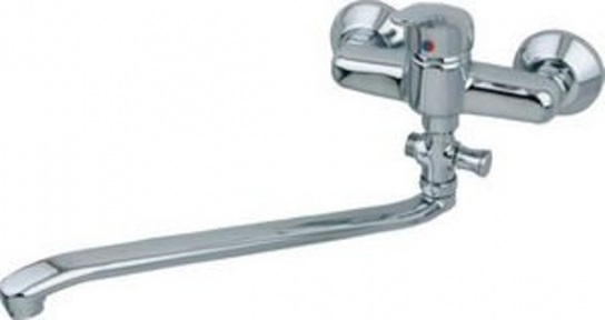 Змiшувач для ванни без душового комплекту KFA ARMATURA NEFRYT (508-710-00)