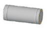 Труба (1mm) 0,25м, н/н ф180/250